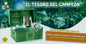 Club Banfield tesoro