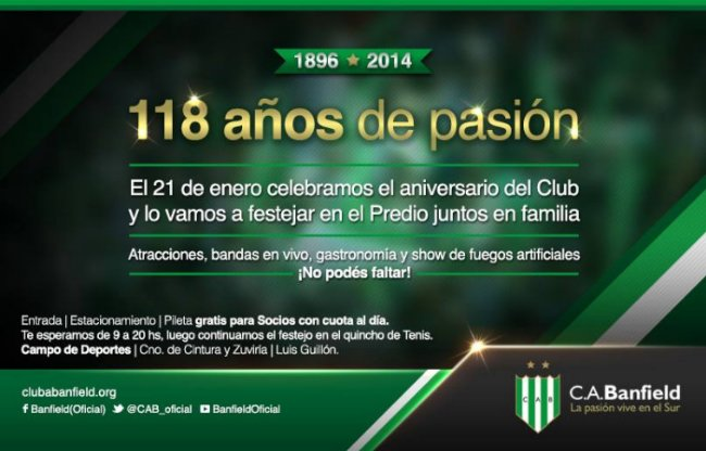 cumple banfield 118